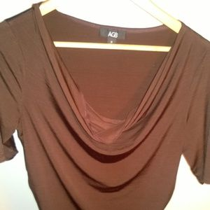 Brown AGB shirt